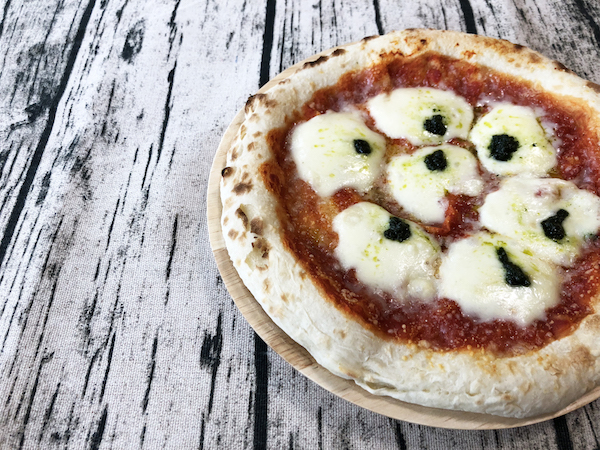 森山ナポリのダブルチーズマルゲリータ