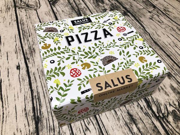 東急ベル「SALUS ONLINE MARKET」の冷凍ピザギフトボックス